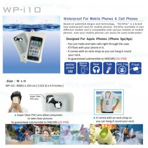 DiCAPac WP-i10 waterproof case