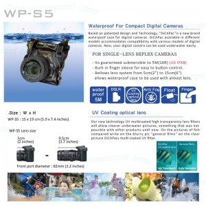 DiCAPac WP-S5 waterproof case