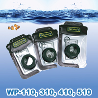 DiCAPac WP-100 WP-310 WP-410 WP-510 waterproof case