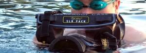 Dicapac waterproof case for DSLR camera