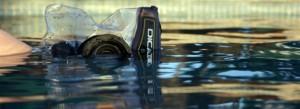 Dicapac waterproof case for digital camera