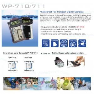 DiCAPac WP-710 WP-711 waterproof case
