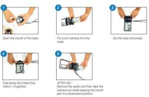 DiCAPac waterproof Case Manual Top 05
